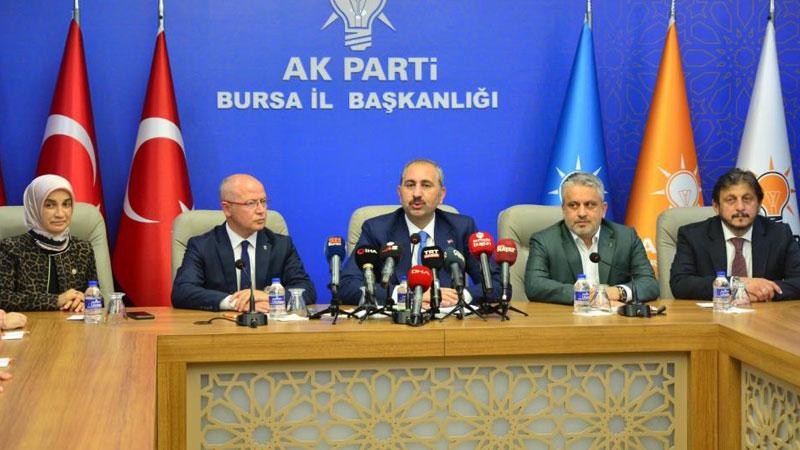 Adalet Bakanı'ndan Bursa'da önemli mesajlar