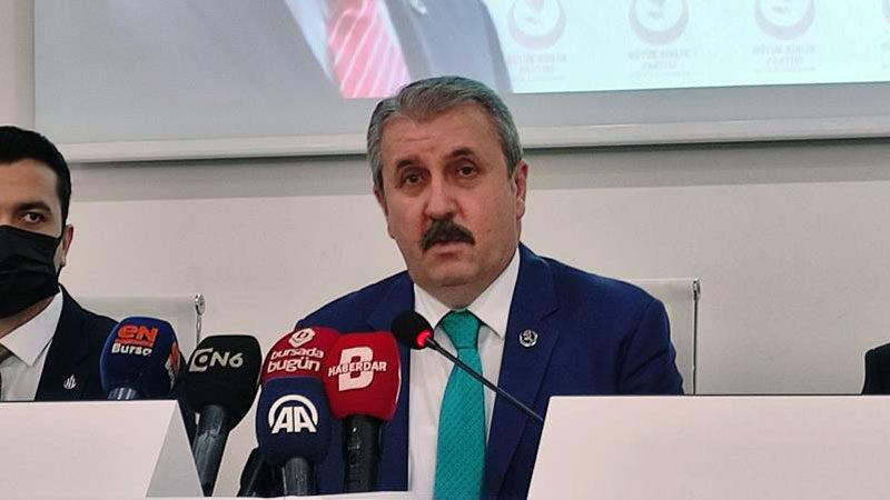 BBP Genel Başkanı Destici Bursa'da konuştu