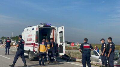 Bursa'da feci kaza! 1 ölü, 1 yaralı