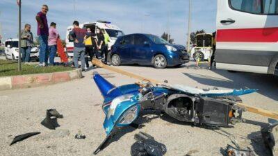 Bursa'da feci kaza! Anne ve kızı ölümden döndü