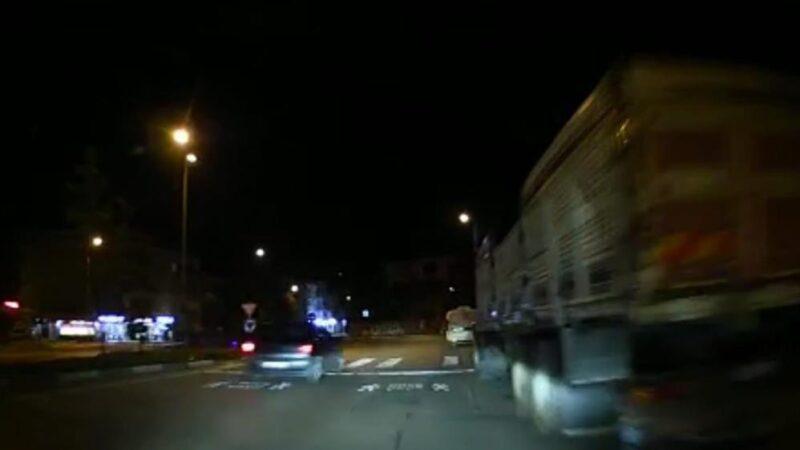 Bursa'da alkollü sürücü dehşeti! O anlar kamerada