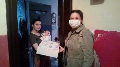 Kestel Belediyesi'nden 2 bin anneye 'bebek gelişim seti'