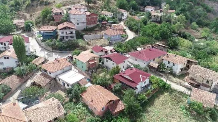 Bölgede 'mavi köy' olarak biliniyor! Koronavirüs buraya giremedi