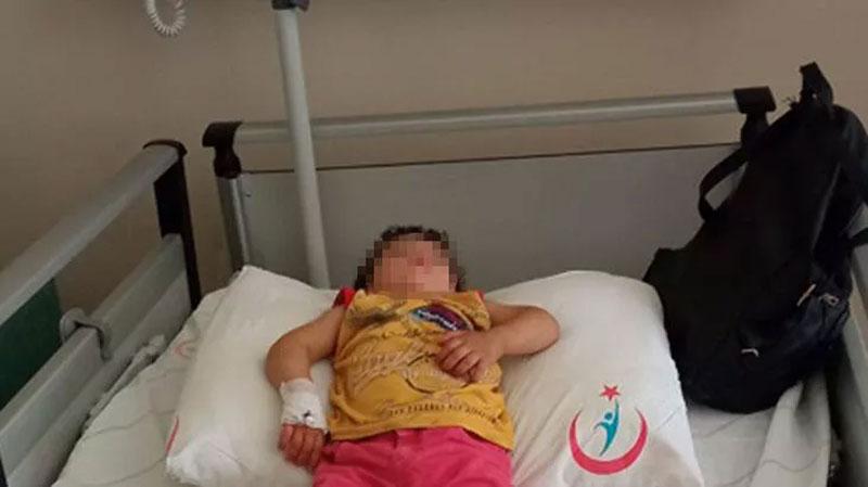 İlaç yutan 1 yaşındaki Latife, hastanelik oldu