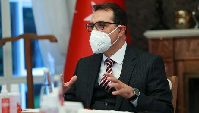 Bakan Dönmez: Karadeniz'deki rezerv, ihtiyacın üçte birini karşılayacak