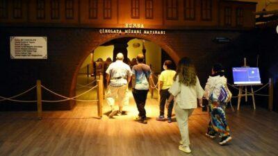 Bursa'nın en tatlı müzesi: 8 ton çikolata kullanıldı