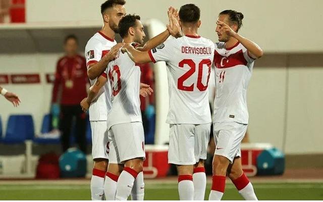A Milli Futbol Takımı, Cebelitarık'ı 3-0 yendi
