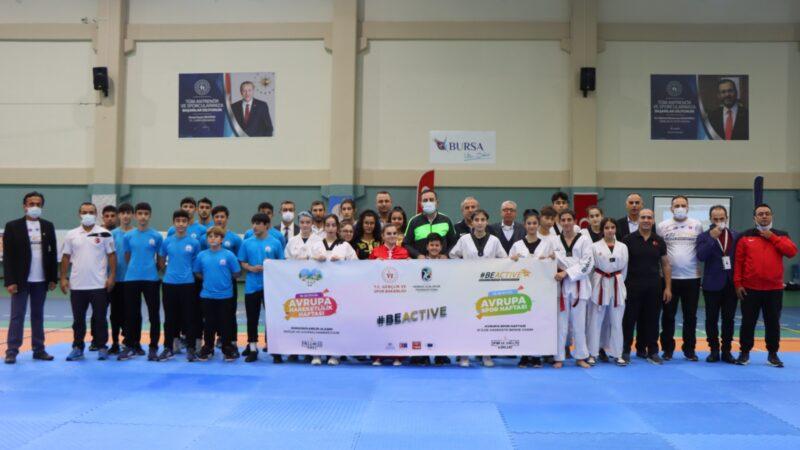 Avrupa Spor Haftası'na Bursa'dan coşkulu start