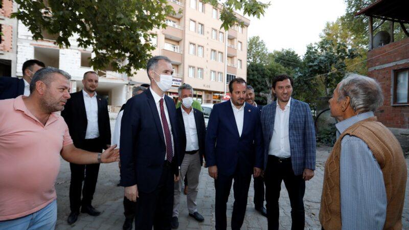 Milletvekili Refik Özen'den İnegöl'e ziyaret