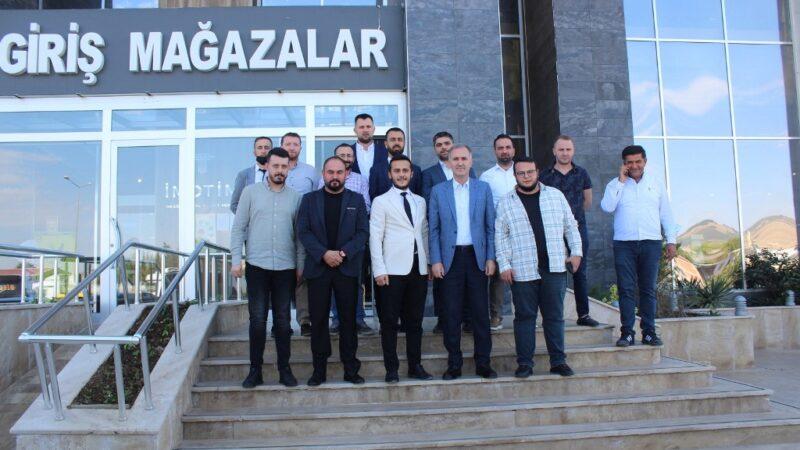 Başkan Taban'dan İMOTİM Yönetimine ziyaret