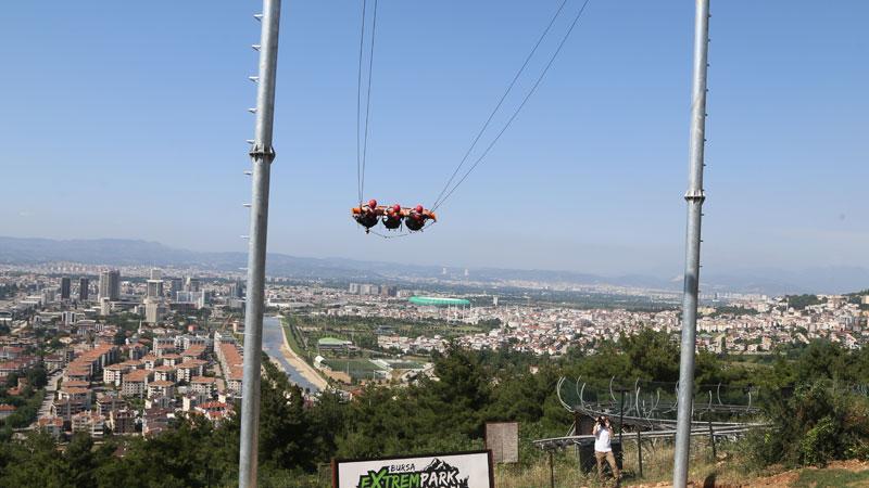 Bursa'da büyük ilgi çekiyor! Adrenalinin adresi…