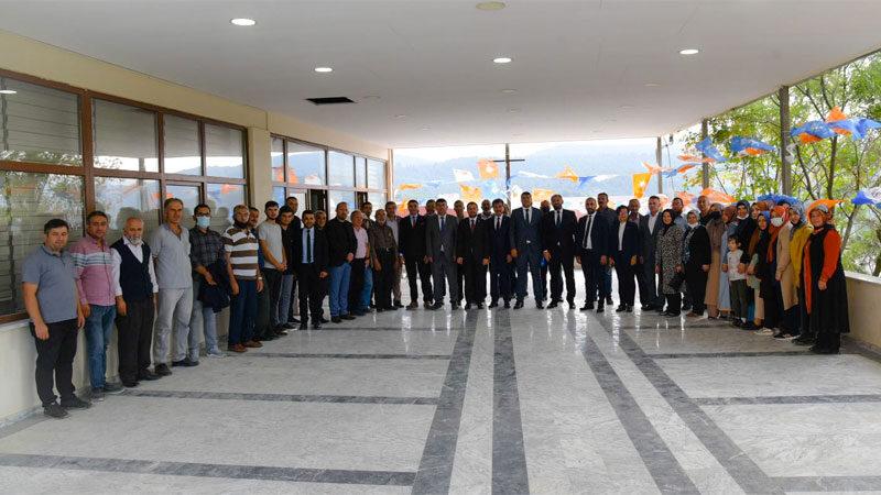 AK Parti ilçe danışma meclisi toplantıları dağ ilçelerinde devam etti