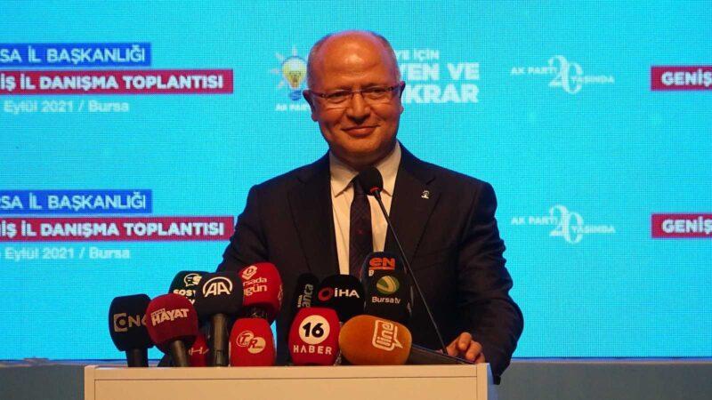 """AK Parti İl Başkanı Gürkan: """"Vaktimizi enerjimizi daha ileriye gitmek için harcayacağız"""""""
