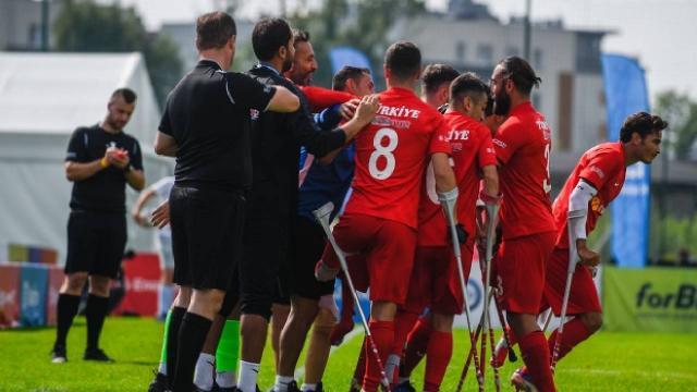 Ampute Milliler'den Gürcistan'a 10 gol