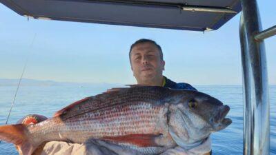 Bu balığı Bursalı avukat tuttu!