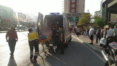Bursa'da taksici ile yolcu arasında kavga kanlı bitti!