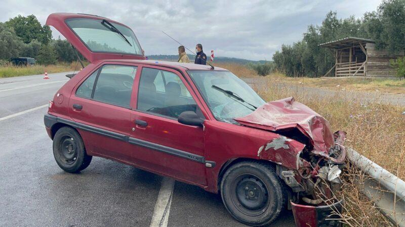 Bursa'da tır ile otomobil çarpıştı