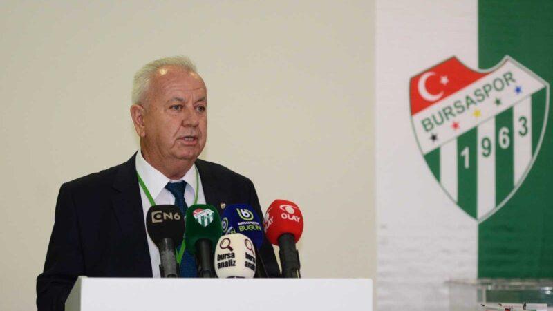 Bursaspor Divan Başkanı Galip Sakder'den birlik çağrısı