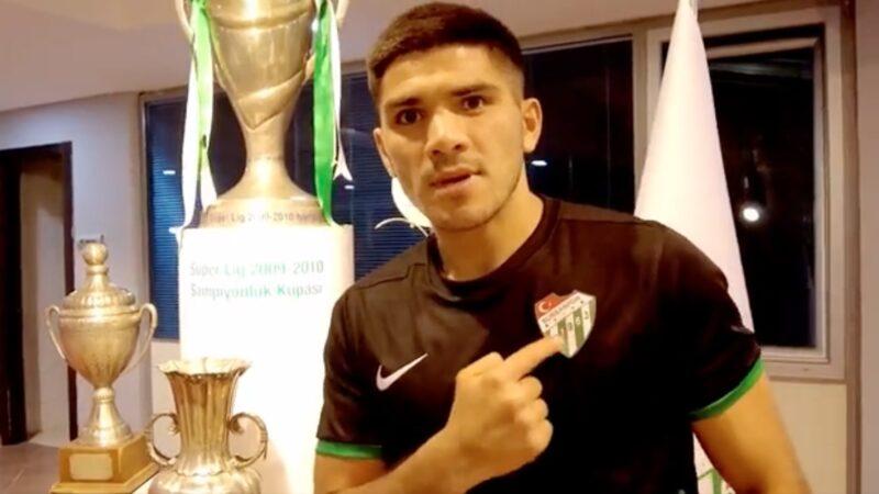 Bursaspor Kulübü, Nicolas Zalazar transferini resmen duyurdu
