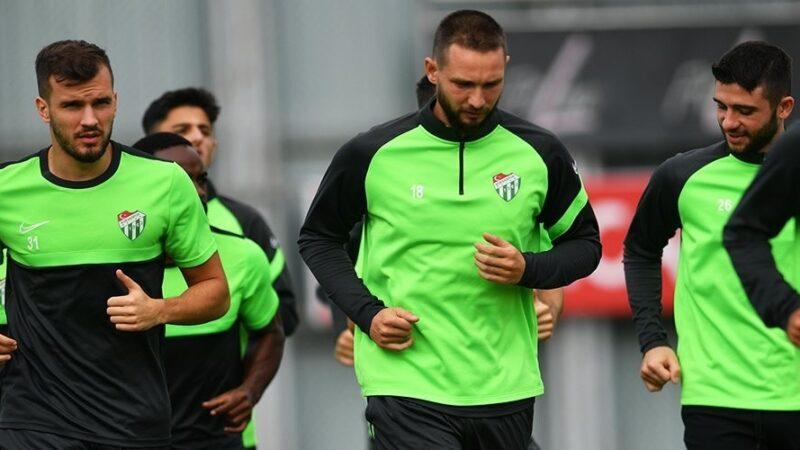 Bursaspor'da Tuzlaspor maçı hazırlıkları tamamlandı