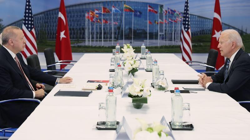 Cumhurbaşkanı Erdoğan Biden ile görüşecek