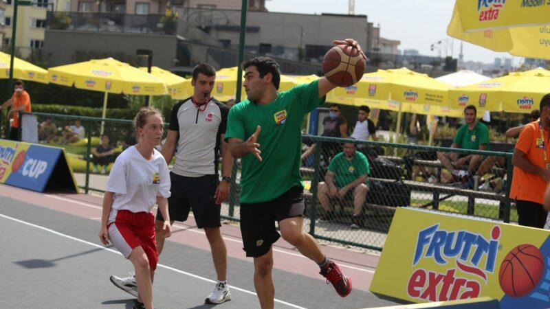 Frutti Extra Cup'tan 3×3 Basketbol Turnuvası başlıyor