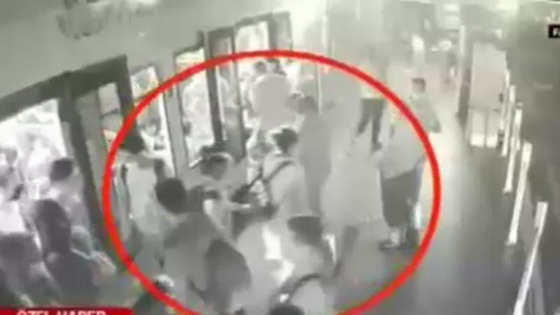 Saniyeler içinde çaldı aynı hızla yakayı ele verdi!