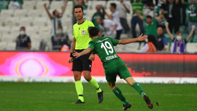 Bursaspor'dan muhteşem geri dönüş! Harika sonuç…