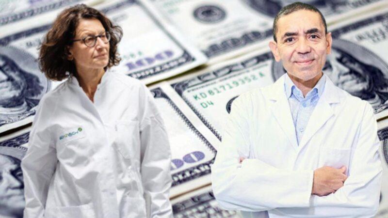 Pandemiyle servetlerine servet kattılar! Aşıdan kazandıkları para ortaya çıktı