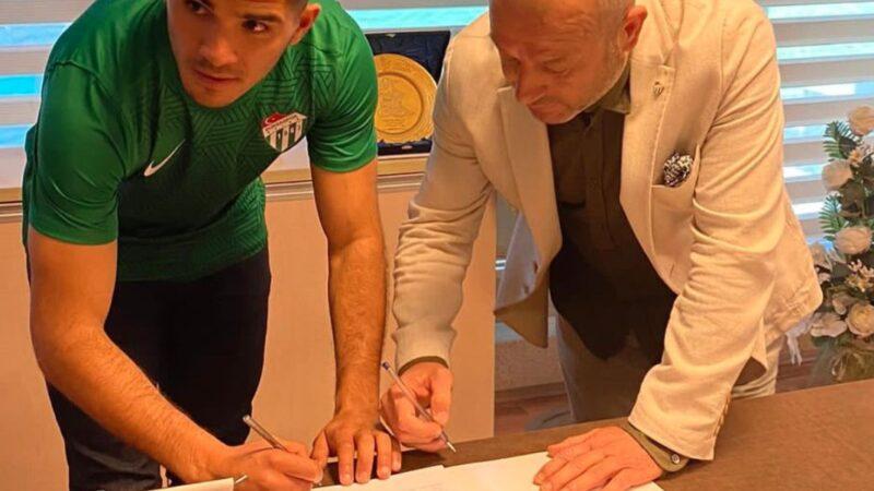 Nicolas Zalazar'dan ilk Bursaspor açıklaması