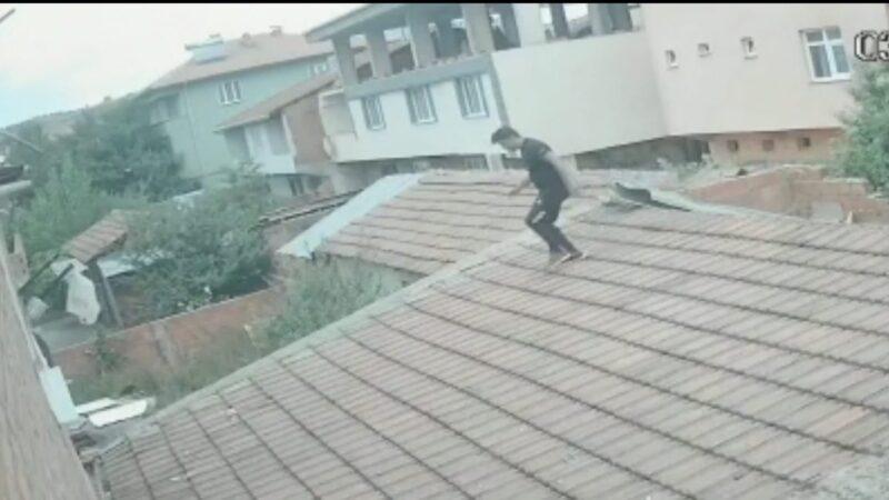 Bursa'da 'Ninja' intikamı kamerada