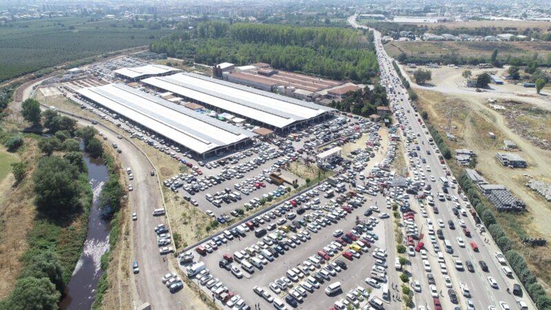 Yer:Bursa… Oto pazarı değil bitpazarı