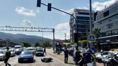 Bursa'da polisten kaçarken ortalığı birbirine kattı