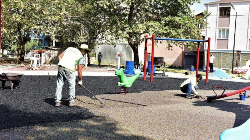'Rauf Denktaş Parkı' sil baştan yenilendi