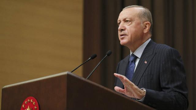 Cumhurbaşkanı Erdoğan: ABD Afganistan'dan çıktığı gibi Suriye'den de çıkmalıdır