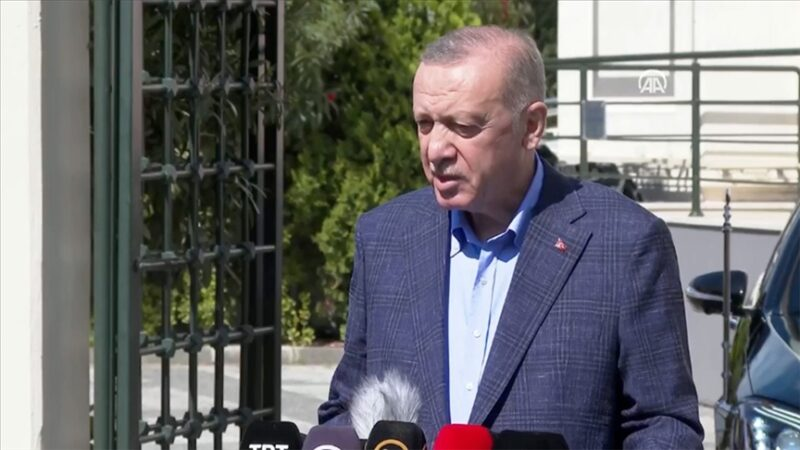 Cumhurbaşkanı Erdoğan'dan ABD'ye tepki: Bu konumda olmamalıydık