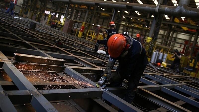 Sanayi üretimi yüzde 8,7 arttı