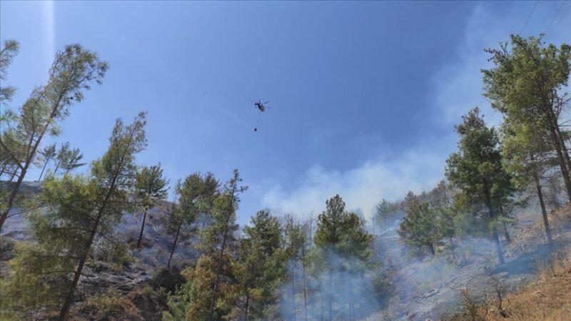 Mersin Anamur'da çıkan orman yangını kontrol altına alındı