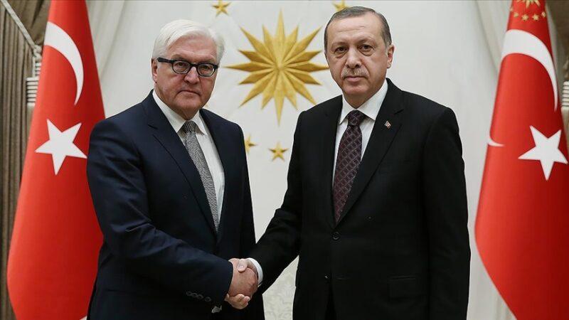 Cumhurbaşkanı Erdoğan, Almanya Cumhurbaşkanı ile telefonda görüştü