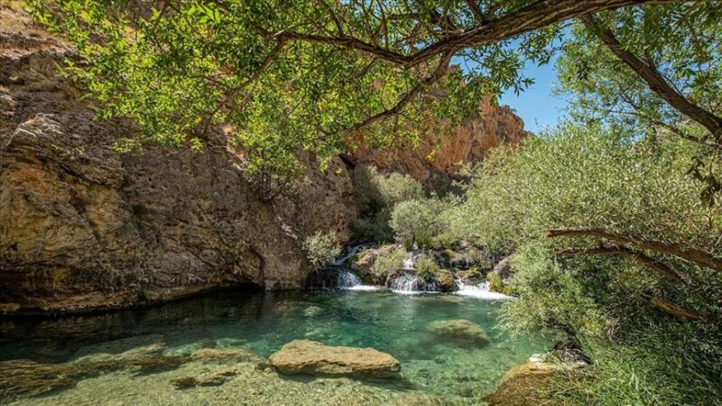 Şuğul Kanyonu dört mevsim doğaseverlerden ilgi görüyor