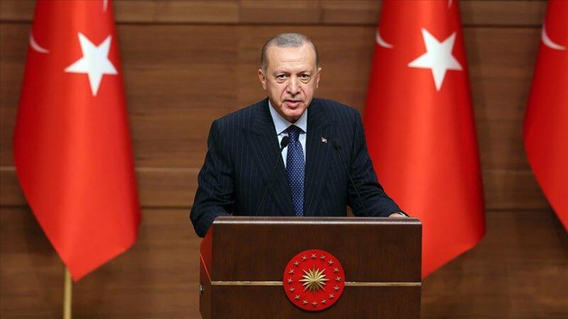 Cumhurbaşkanı Erdoğan'dan 2023 mesajı: 'Yeniden şahlanışın sembolü'