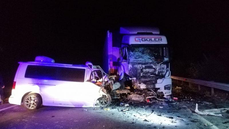 Fenomen tostçu trafik kazasında öldü