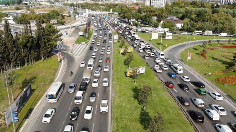 Bursa'da trafik durma noktasına geldi!