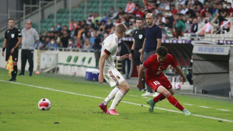 U21 Avrupa Şampiyonası Elemeleri: Türkiye: 0 – Belçika: 3