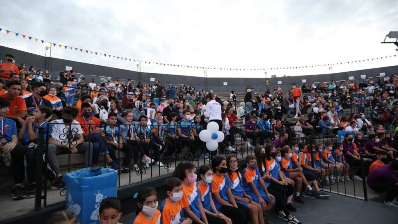 Yaz Spor Okulları'nda muhteşem final