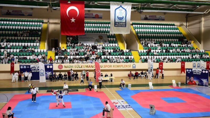 Yıldırım'da taekwondo rüzgârı