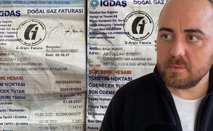 5 bin liralık doğal gaz faturası karşısında şaşkına dönmüştü! Aynı kişiye bir fatura şoku daha…