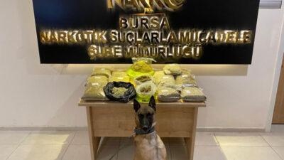 Bursa Polisi ele geçirdi! Çamaşır makinesine gizlemişler