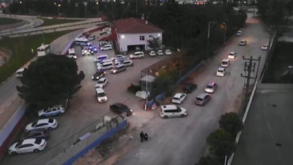 Bursa'da drone destekli operasyon: 6 gözaltı