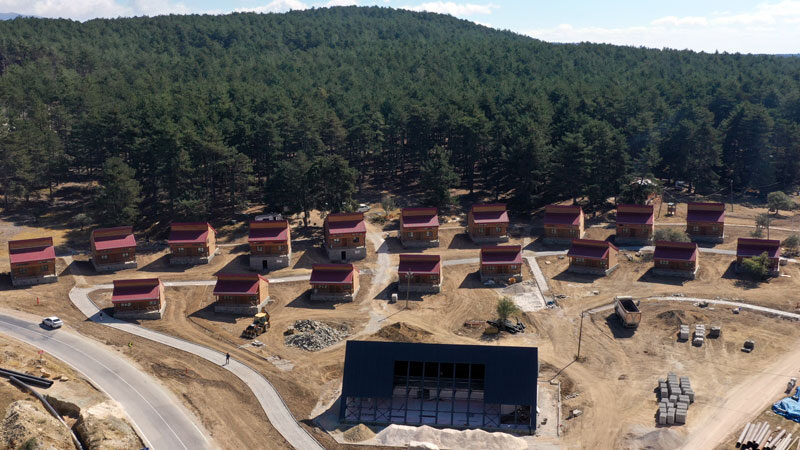 Bursa'da eşsiz manzarada tatil imkanı! O projede sona gelindi